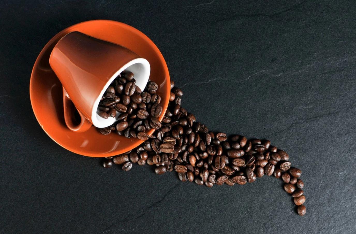 Verschillende soorten koffiebonen