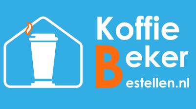 Koffiebekers bestellen Logo